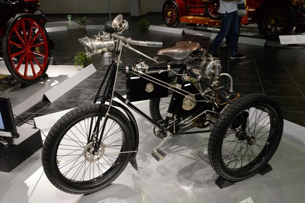 Le tricycle De Dion Bouton