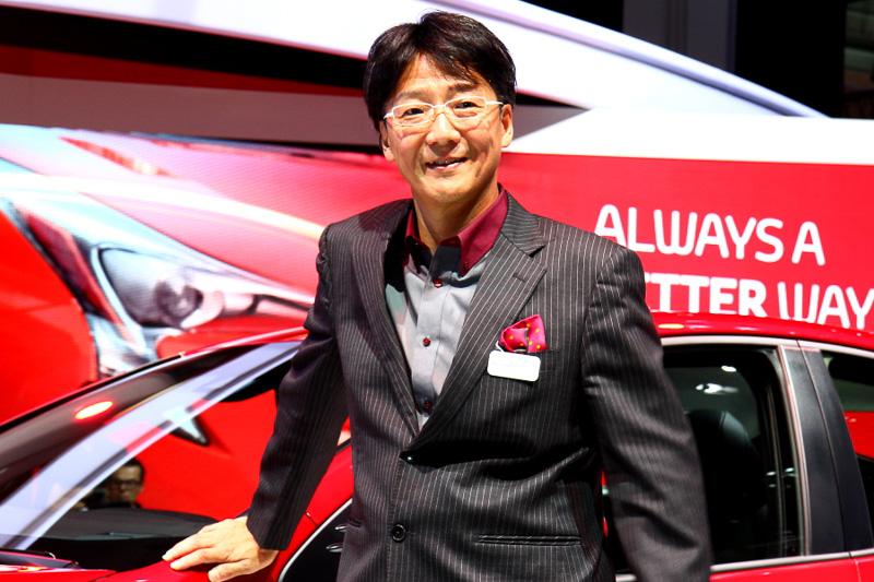 Koji Toshima, l'ingénieur en chef du programme Prius 4