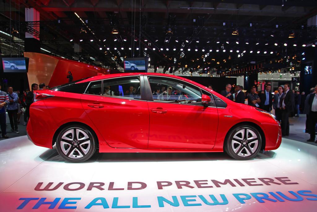 Toyota Prius 4 au salon automobile de Francfort 2015
