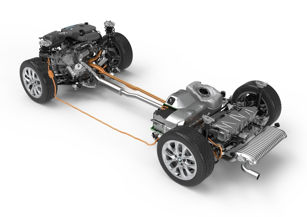 Motorisation hybride rechargeable pour BMW Série 2