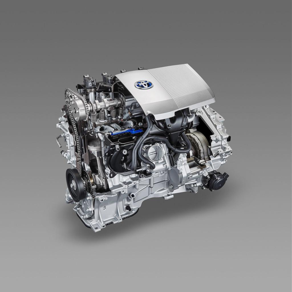 Le moteur essence 1,8L 2ZR-FXE amélioré