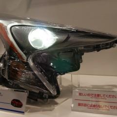 Le détail des composants de la nouvelle Toyota Prius 4 au salon automobile de Tokyo 2015