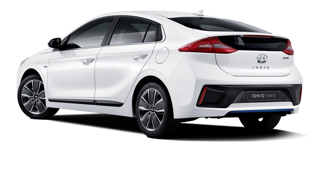 Hyundai dégaine la Ioniq Hybrid