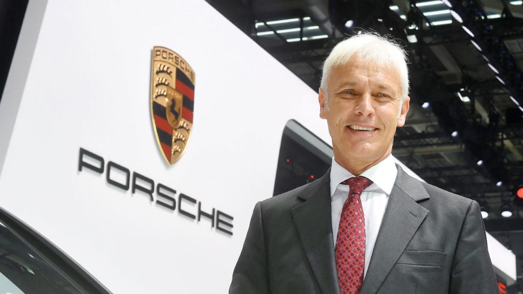 Matthias Müelle interview sur Porsche 911 hybride rechargeable