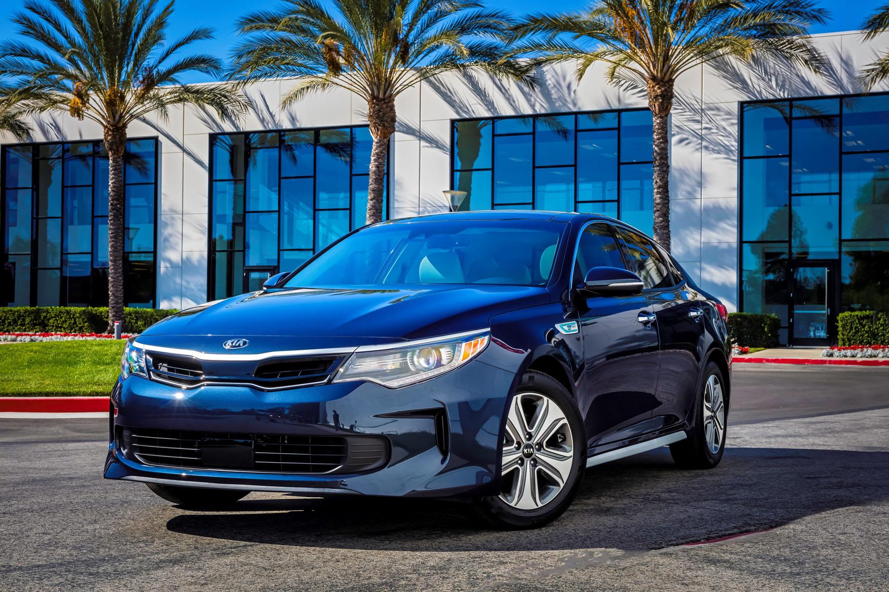 Kia Optima Hybrid et PHEV : le renouveau