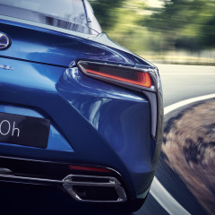 Lexus LC 500h: nouvelle motorisation hybride Multi-Stage