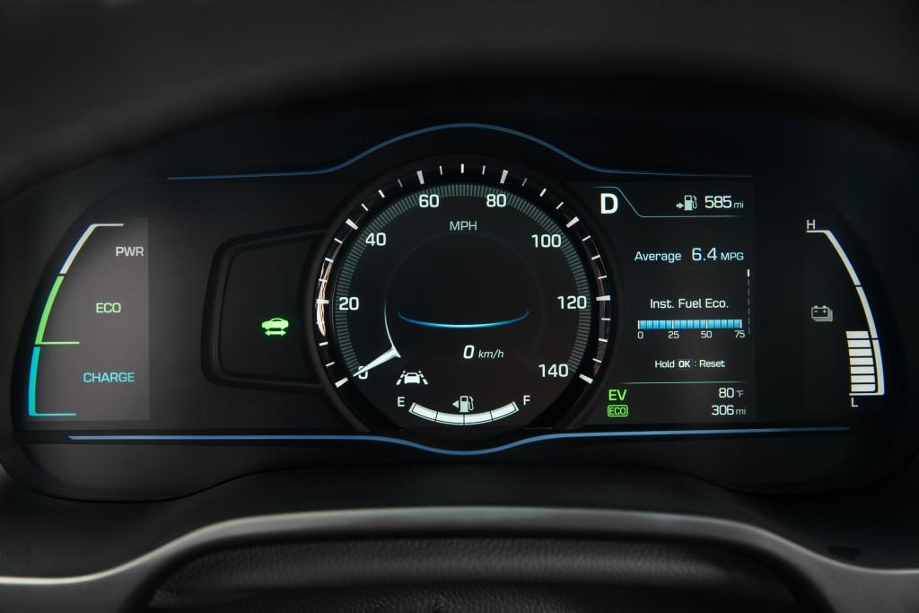 Hyundai Ioniq Instrument de bord