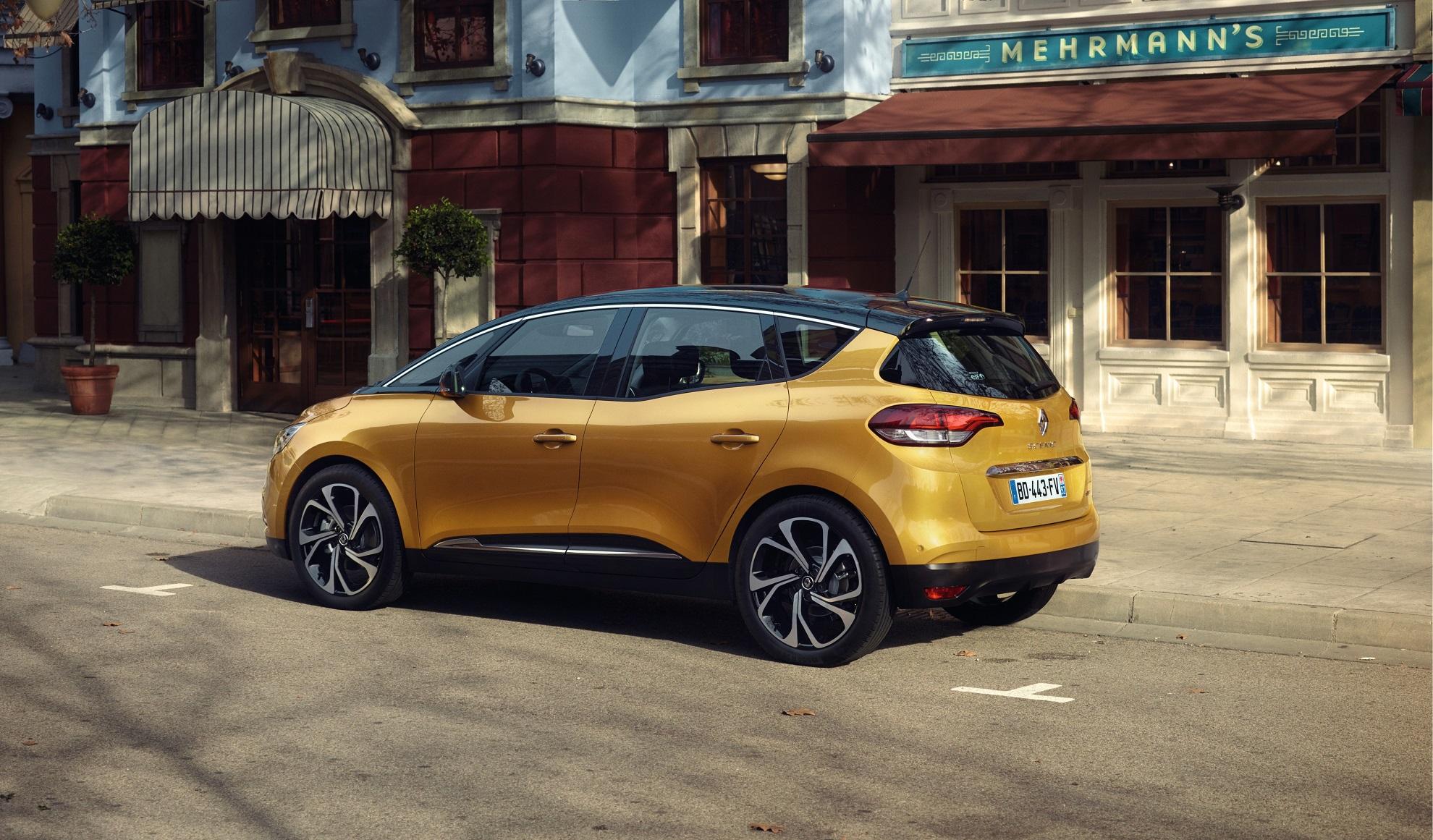Scénic Hybrid Assist : première hybride Renault