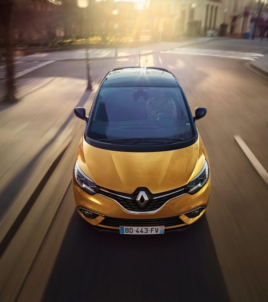 Renault Scenic Hybrid Assist 2016 - Salon Genève