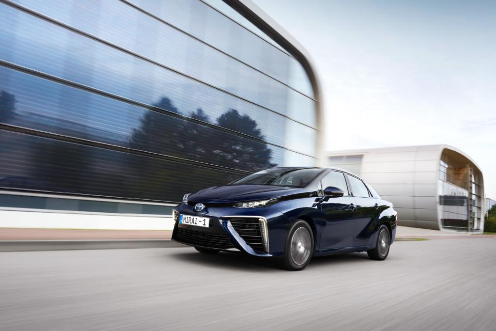 Toyota Mirai test Allemagne