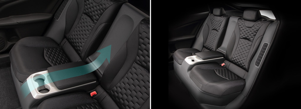 Toyota Prius 4 rechargeable place arrière - Prius Prime