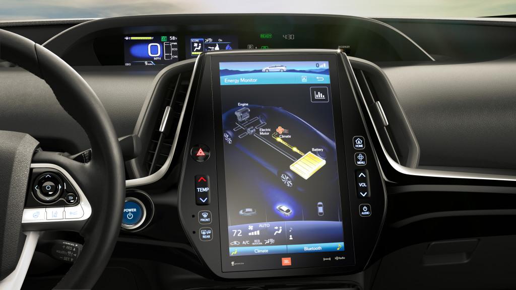 Toyota Prius Prime écran 11,6 pouces