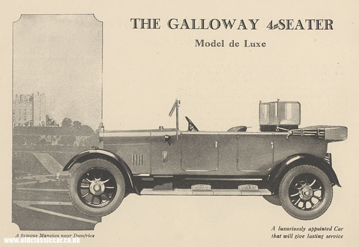 Voiture Galloway - 4 places