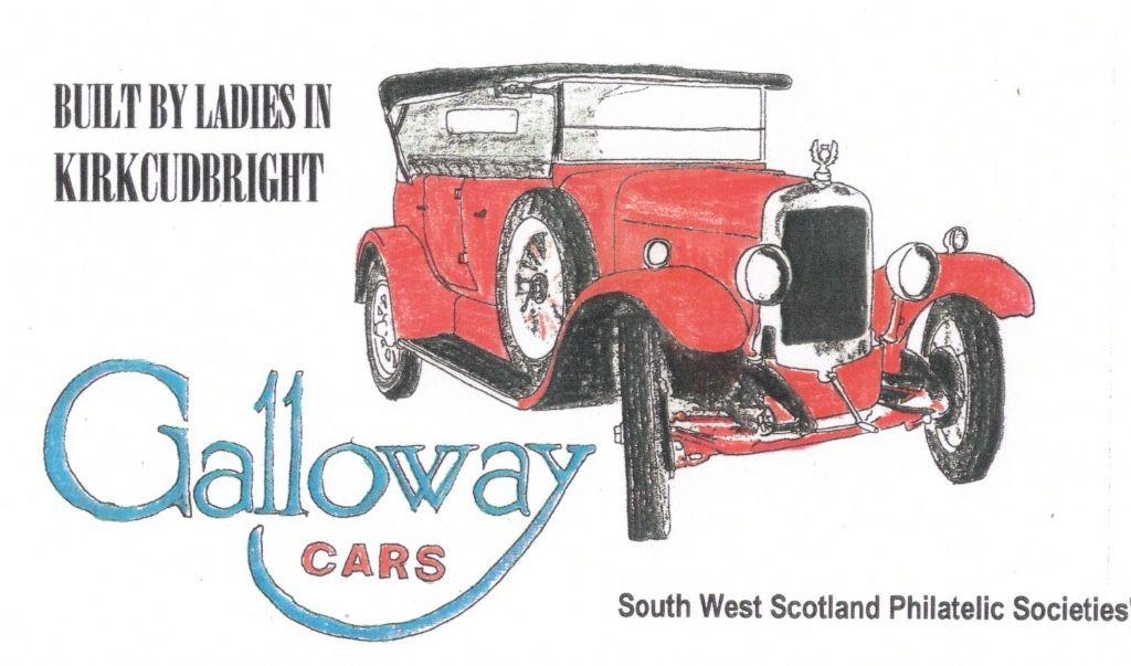 Voiture Galloway - publicité
