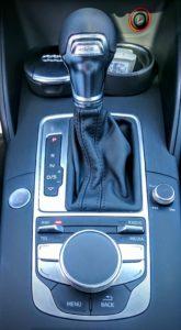 Essai Audi A3 e-tron : levier de vitesse DSG