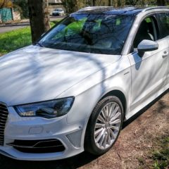 Essai vidéo de l'Audi A3 e-tron
