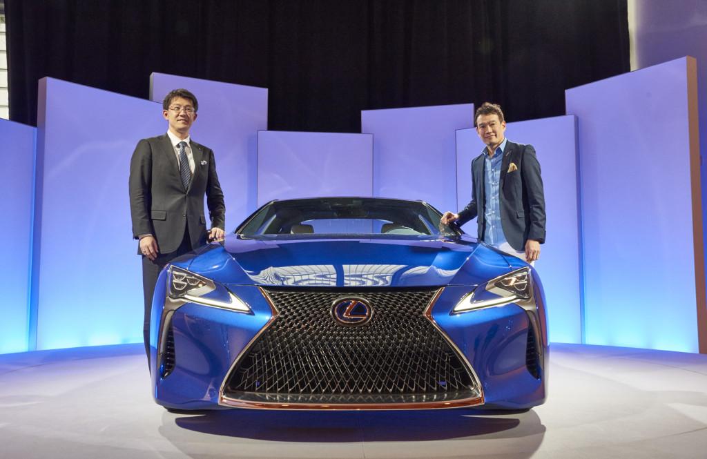 Lexus LC Designer