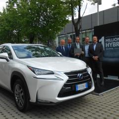 Lexus : 1 million de voitures hybrides écoulées