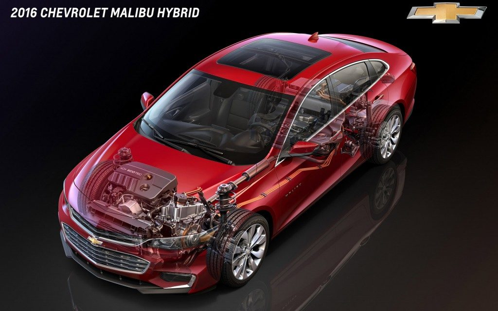Chevrolet Malibu Hybrid 2016