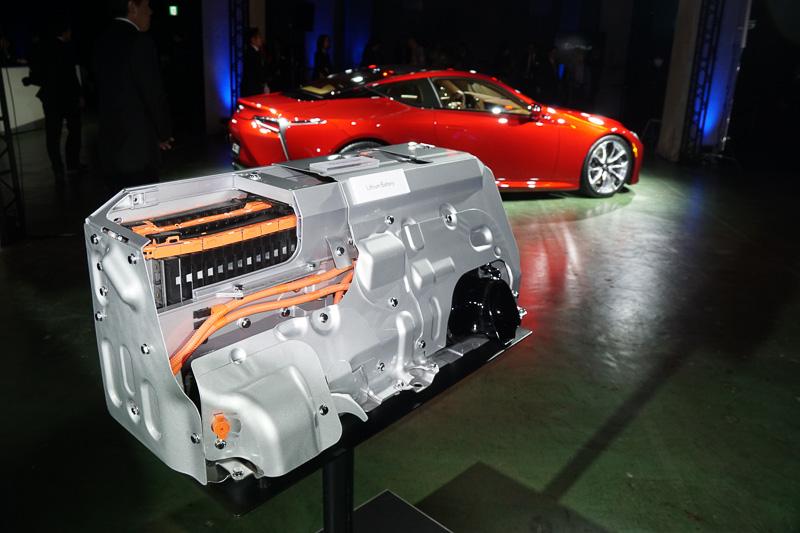 Batterie Lithium Lexus LC500h