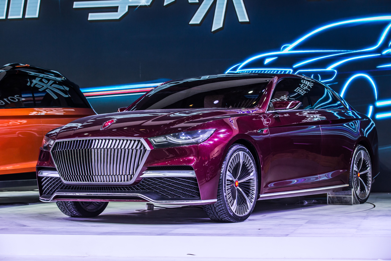 Hongqi B-Concept : hybride rechargeable de Mao