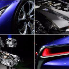 Lexus LC 500h dévoile sa motorisation hybride au Japon