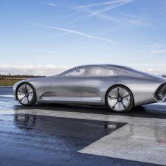 Mercedes Concept IAA : hybride rechargeable au Cx 0,19
