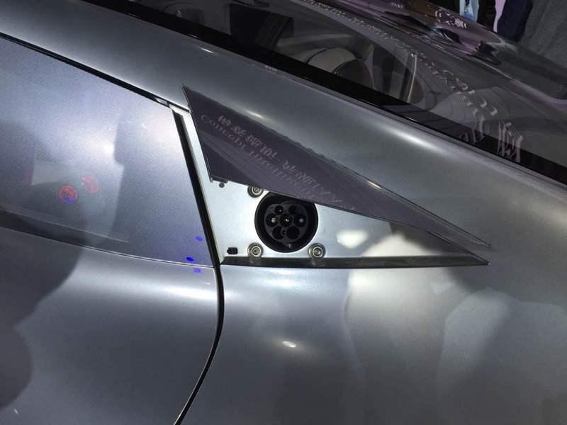 Mercedes Concept IAA Prise Recharge