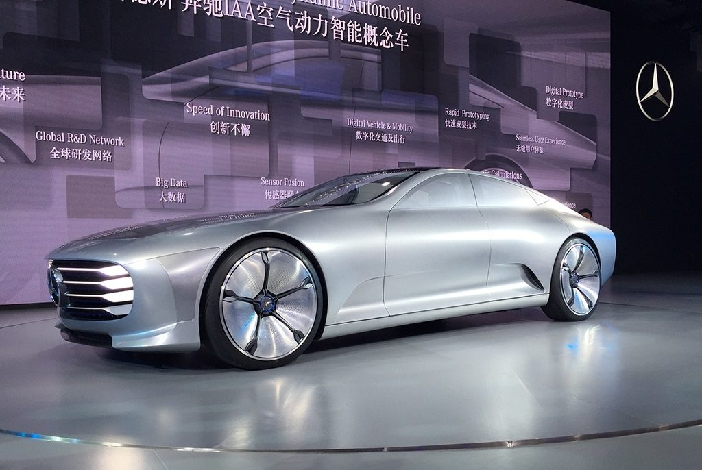 Mercedes Concept IAA au salon de Beijing 2016