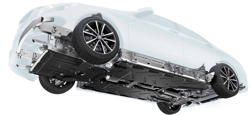 Mercedes Sous Châssis