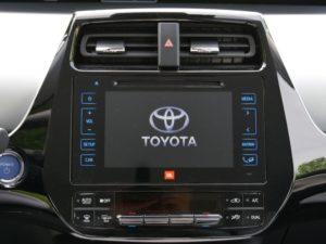 Toyota Prius 4 - écran multimédia