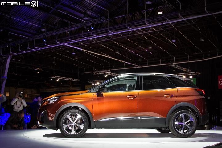 Peugeot 3008 2016 profil