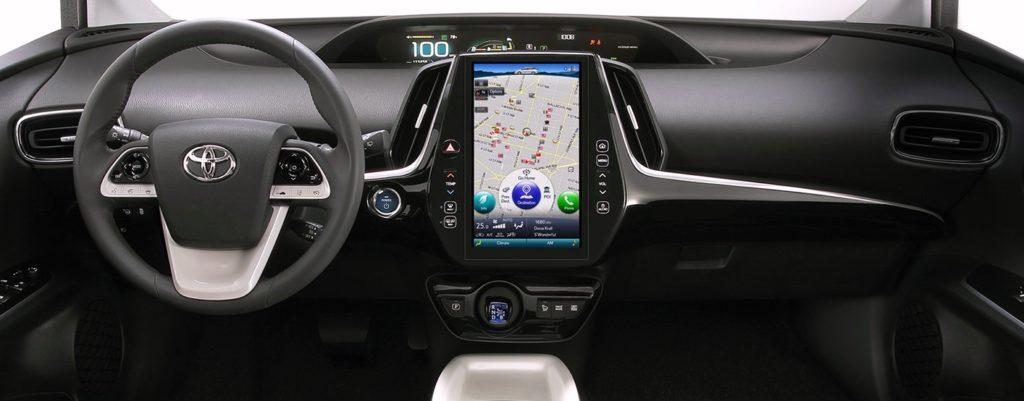 Toyota Prius rechargeable 2016 intérieur