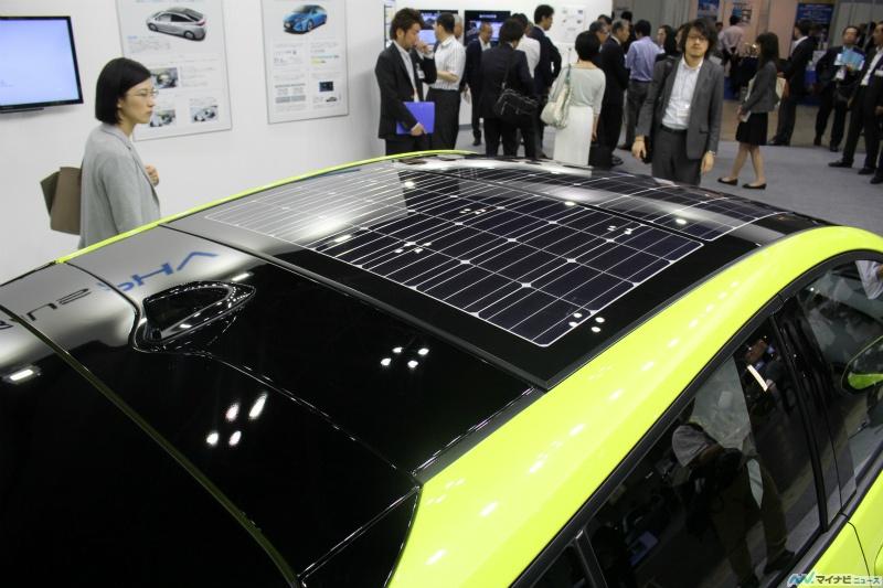 Prius 4 rechargeable équipée de toit panneau solaire