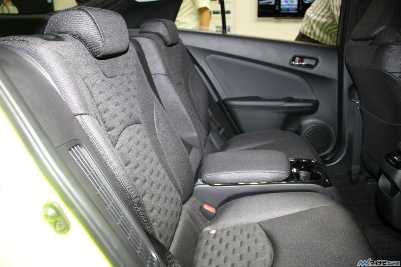 Prius 4 rechargeable place arrière