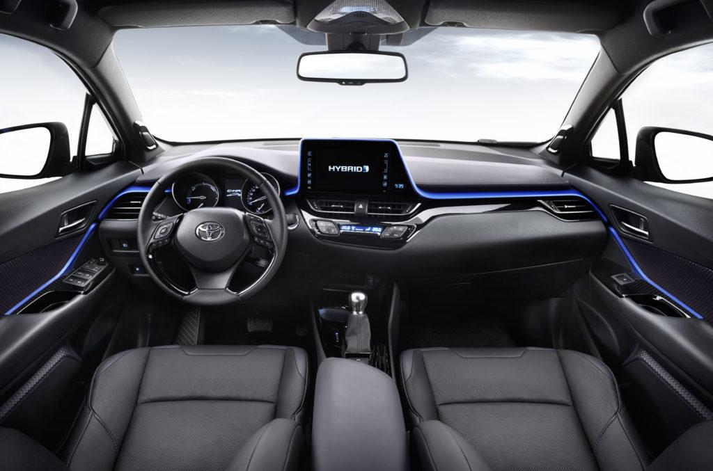 Toyota a proposé un nouveau design intérieur avec une finition améliorée