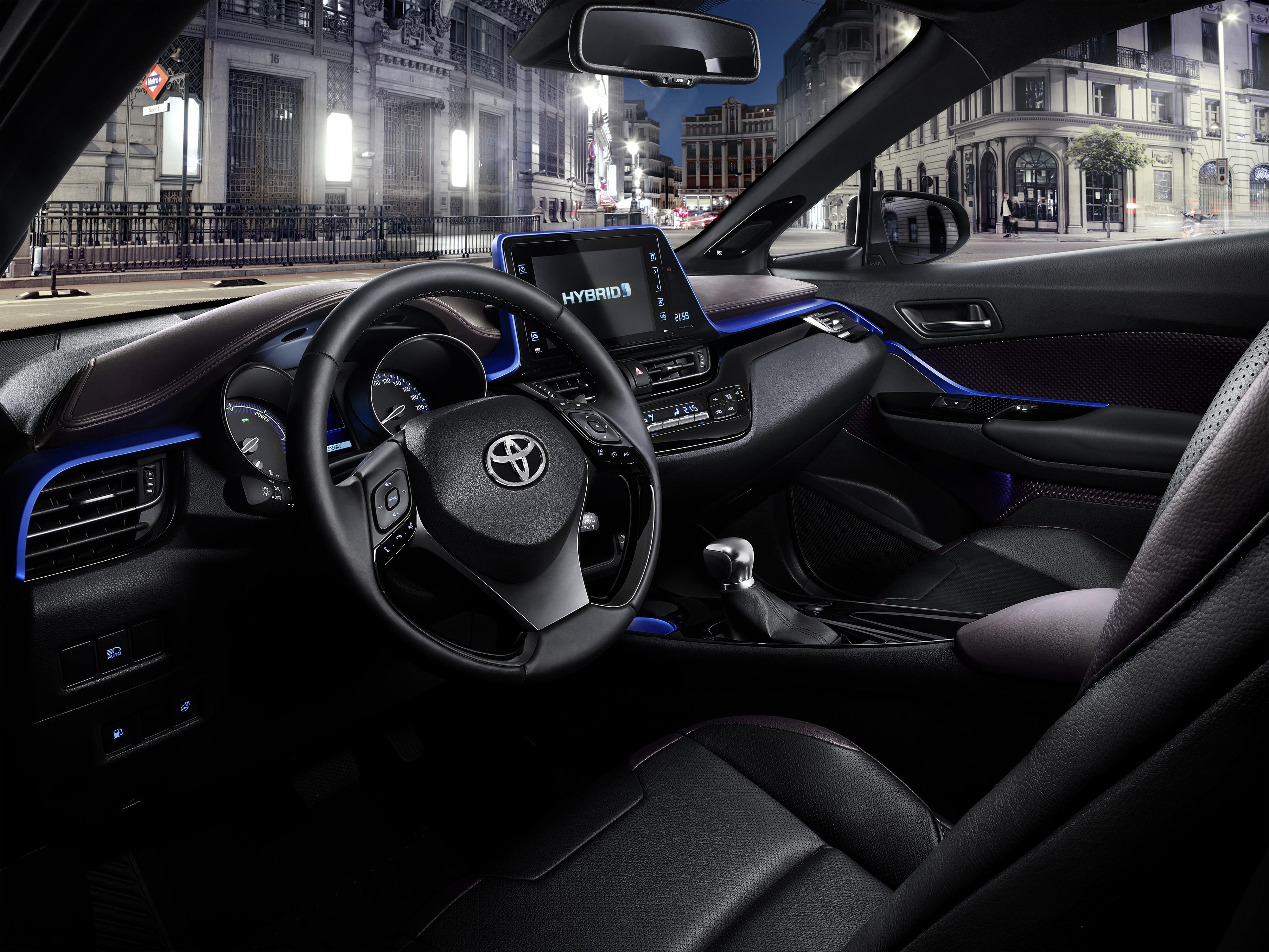 Toyota C Hr Hybride Int 233 Rieur La Sophistication Au Grand