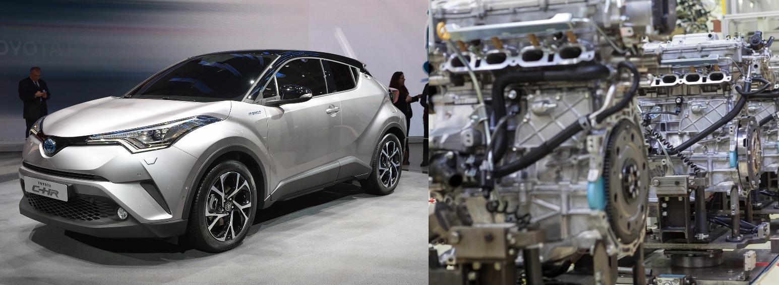Même si les Toyota C-HR sont produits en Turquie, leur motorisation hybride provienne de l'Angleterre