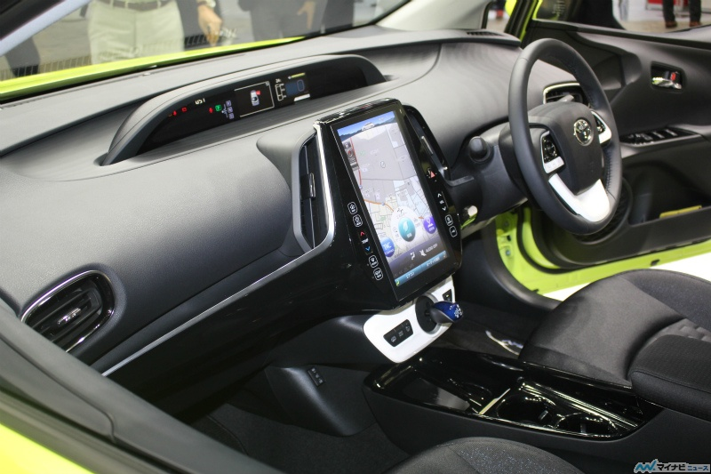 Toyota Prius 4 rechargeable intérieur