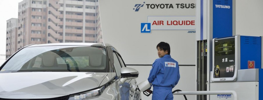 Station Hydrogène : Air Liquide rejoint Toyota et JX Nippon