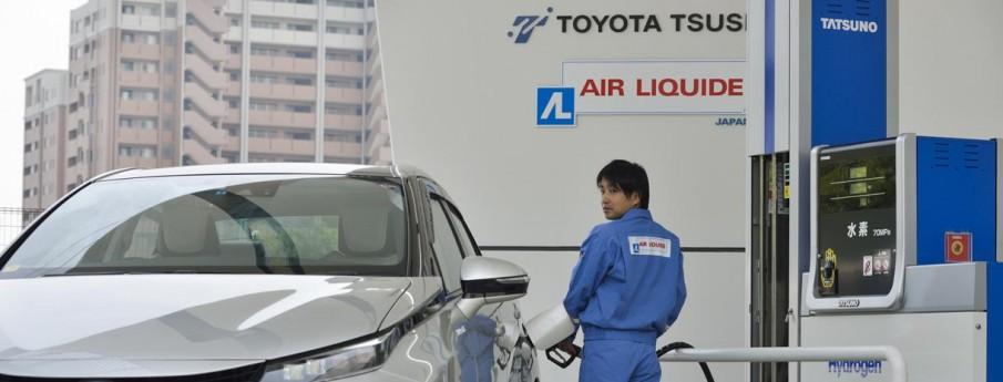 Station Hydrogène Air Liquide Japon