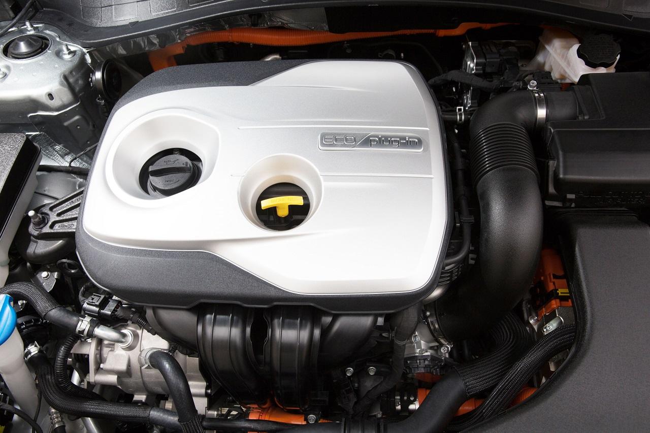 Kia Optima hybride rechargeable - moteur