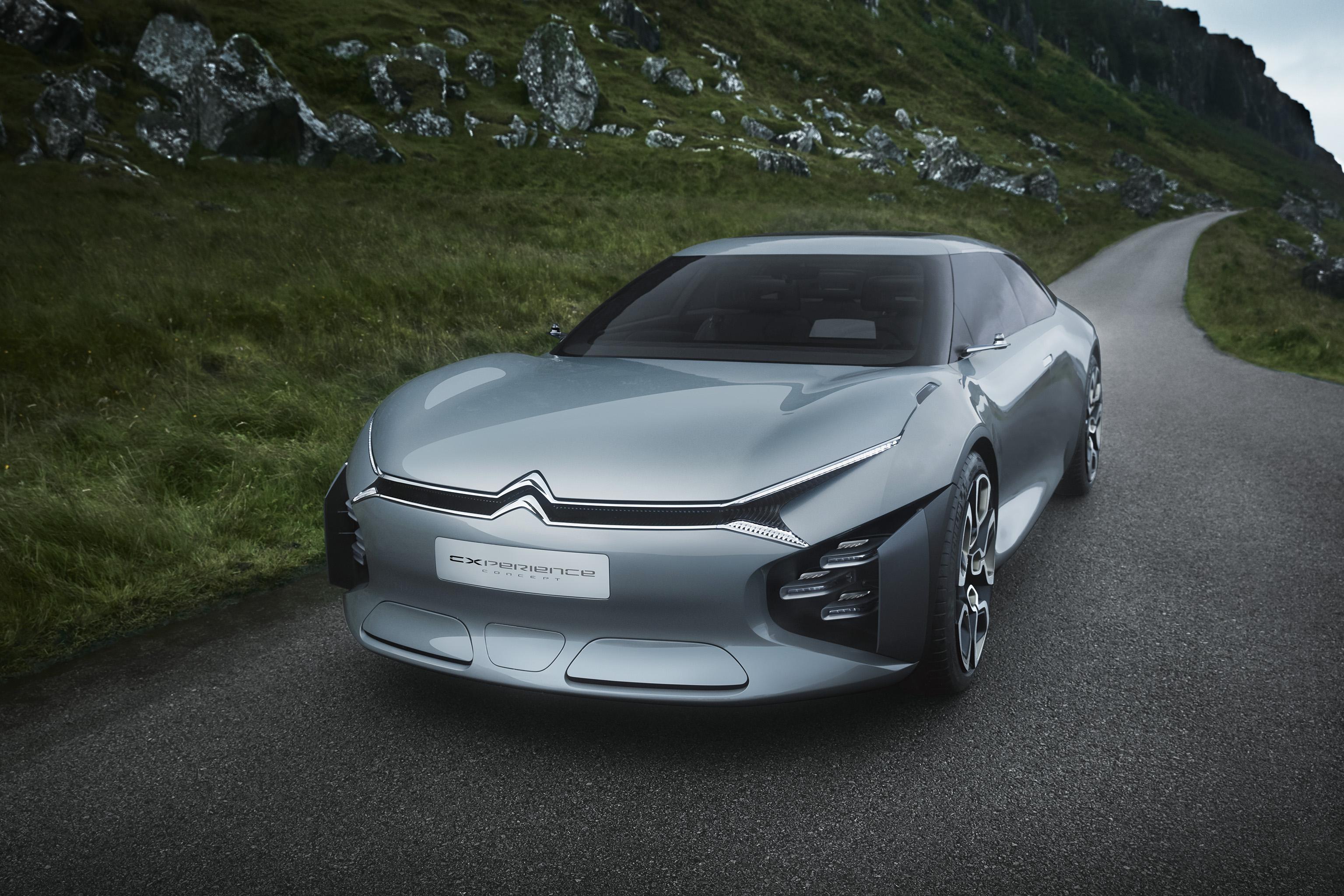 Citroën CXPERIENCE Concept : le confort en hybride rechargeable