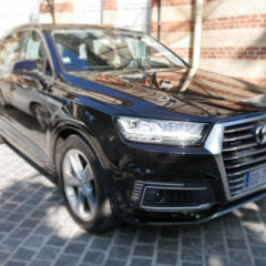 Essai Audi Q7 e-tron : the very good trip