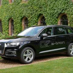 Essai vidéo Audi Q7 e-tron quattro V6 TDI