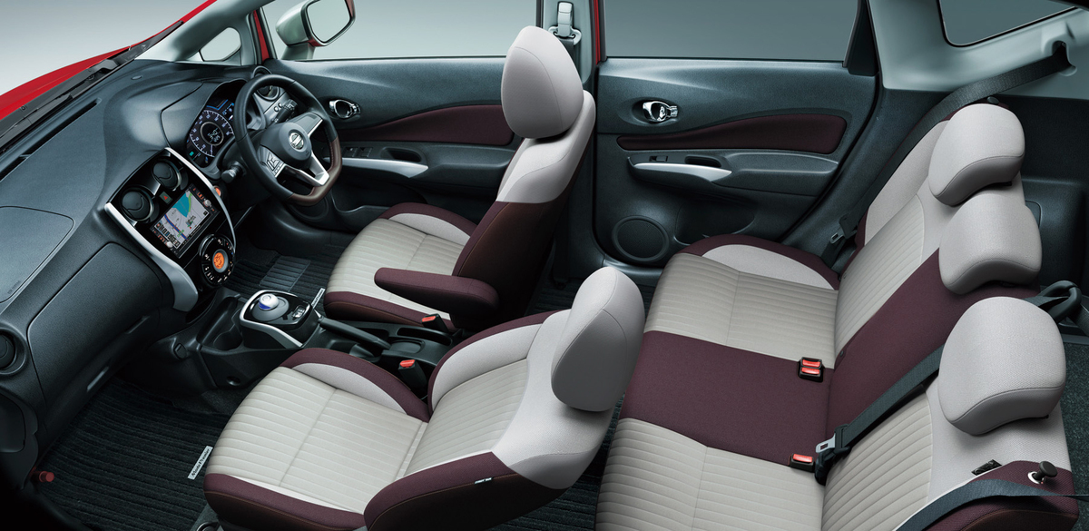 Nissan NOTE e-Power intérieur
