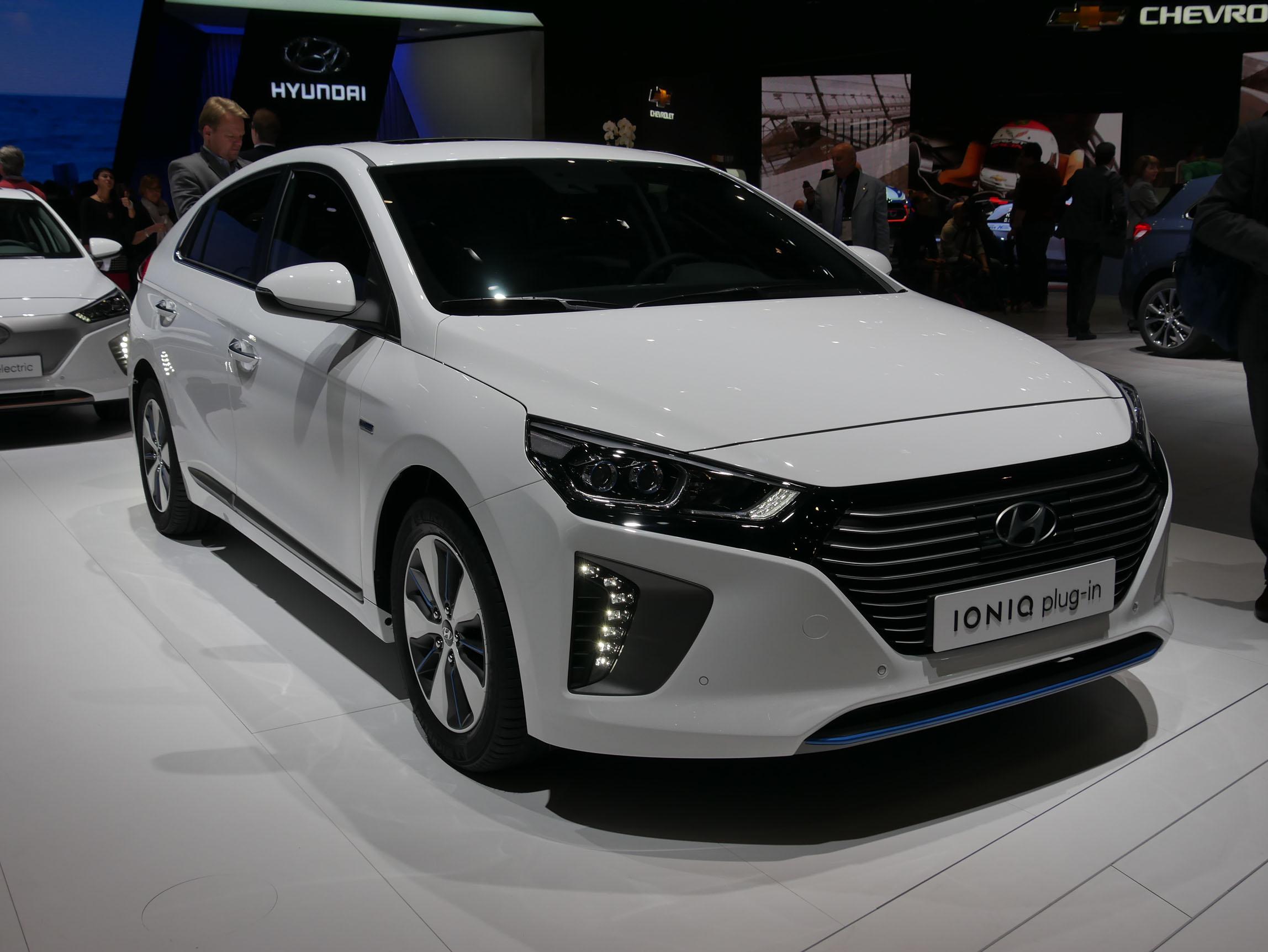Salon de Genève 2017 : Hyundai Ioniq plug-in à la loupe