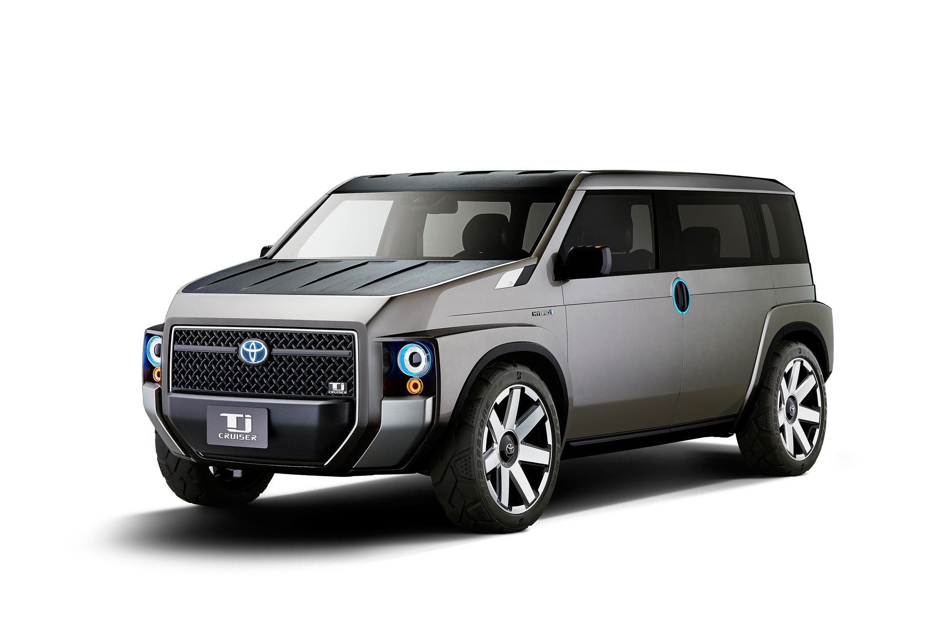 Toyota Tj Cruiser Concept : le nouveau SUV fourgon hybride