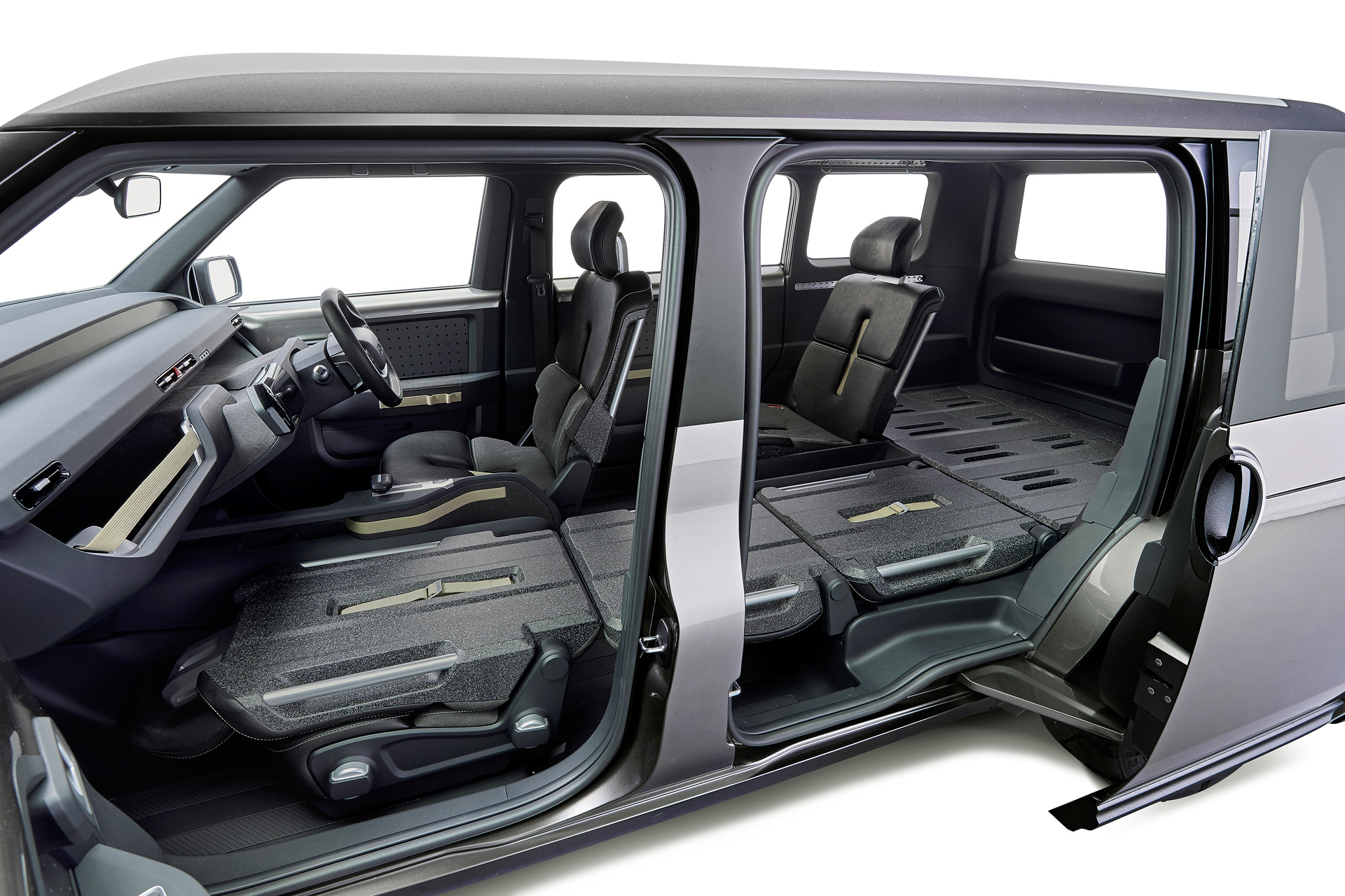 toyota tj cruiser concept le nouveau suv fourgon hybride. Black Bedroom Furniture Sets. Home Design Ideas