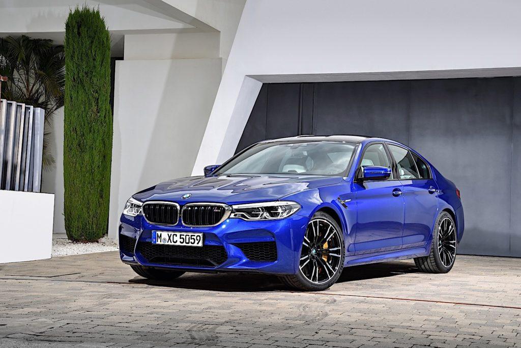 BMW M hybride en développement